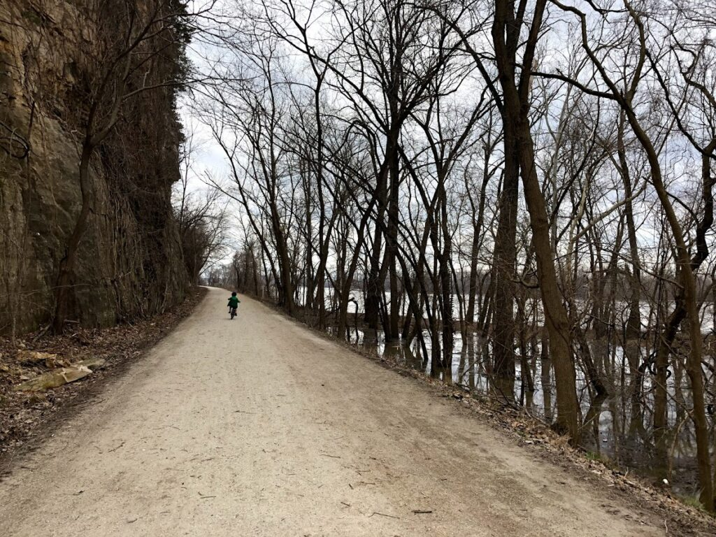 River approaching